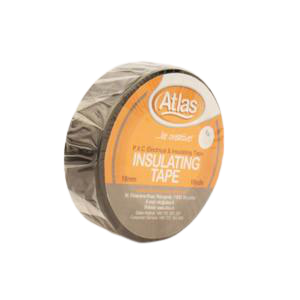 ATLAS IMPORTED PVC ELECTRIC TAPE 0 7IN X 9M