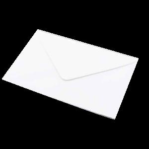 Letter Envelope White